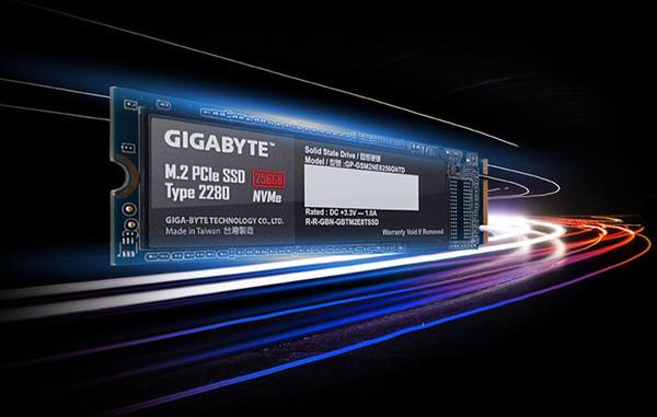 GIGABYTE NVMe M.2 SSD – новые SSD в форм-факторе М.2