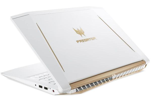 Acer выпустила игровой ноутбук в белом корпусе - Helios 300 White Edition