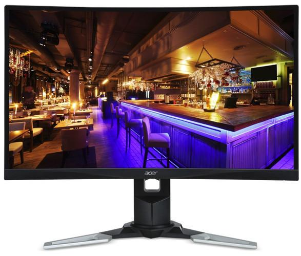 Acer XZ271Ubmijpphzx – новый 27-дюймовый изогнутый игровой монитор