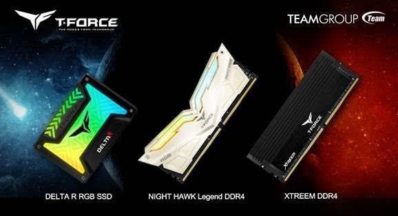 Накопитель TEAMGROUP T-Force Gaming Luminous SSD и память класса high-end
