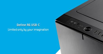 Корпус Define R6 - USB-C, панель из закаленного стекла и комплекты креплений
