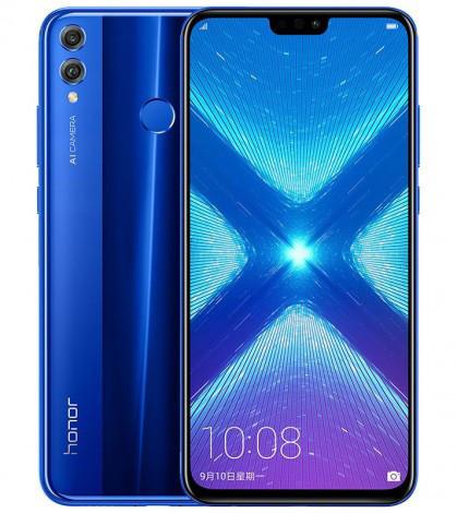 Huawei анонсировала новый безрамочный смартфон Honor 8X