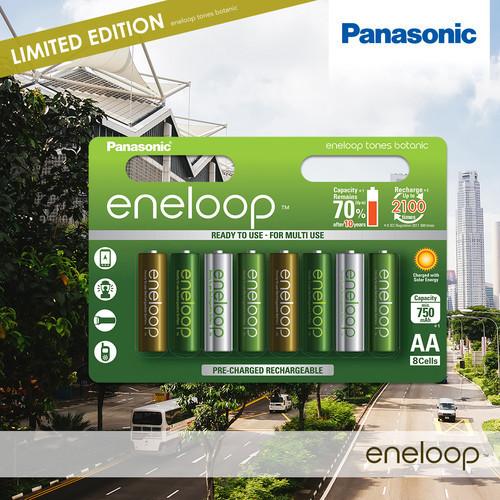 Panasonic подвела итоги тура серии аккумуляторов eneloop botanic colors