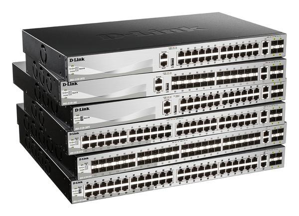 D-Link представляет новую линейку управляемых стекируемых коммутаторов - DGS-313