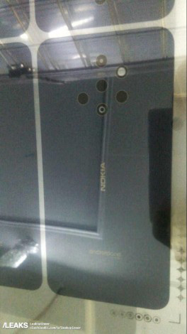 Новая Nokia с пятерной основной камерой – первое фото