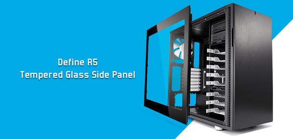 Fractal Design анонсирует комплект панелей из закаленного стекла для корпусов