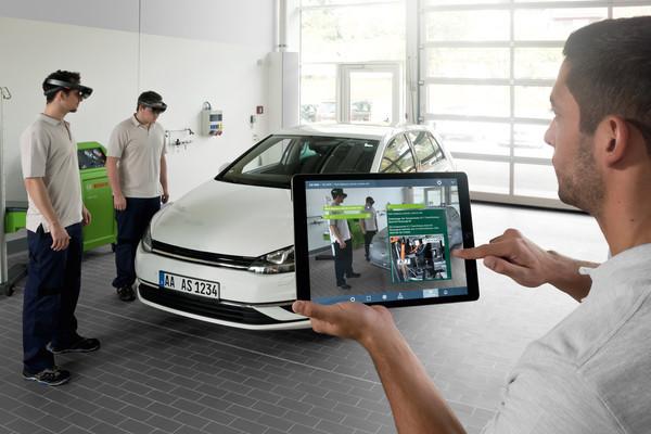 Bosch проводит обучение сотрудников при помощи технологии дополненной реальности