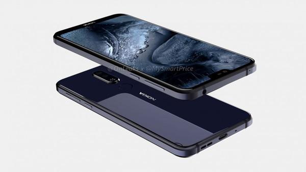 Рендерные фото смартфона Nokia 7.1