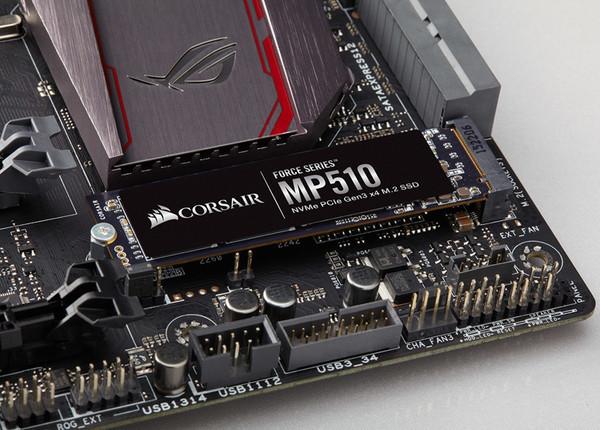 Corsair представила скоростные SSD для игровых ПК - Force MP510