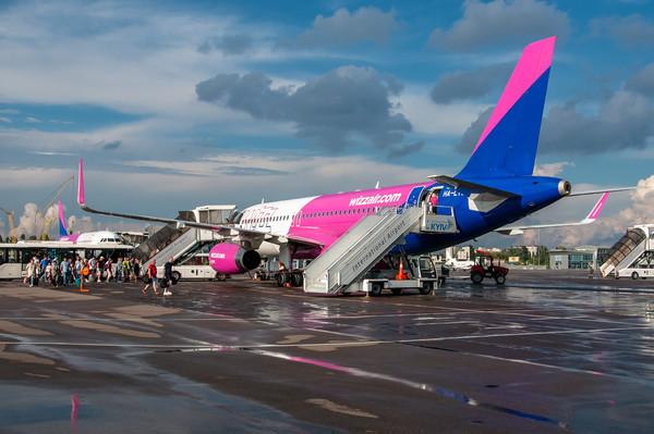 WizzAir открывает новый рейс из аэропорта