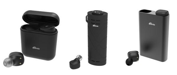 RH-807BTH, RH-808BTH, RH-810BTH - новые true-wireless наушники Ritmix