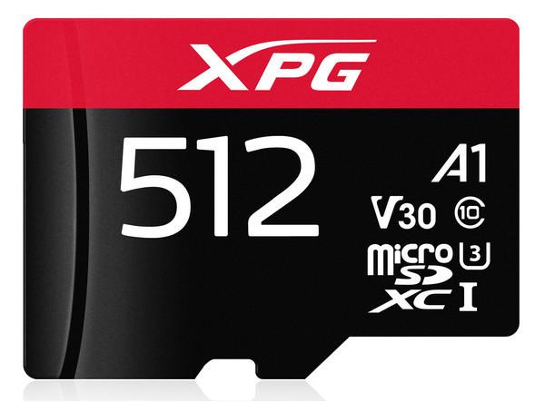 Новые карты памяти ADATA XPG microSDXC UHS-I U3 Class 10