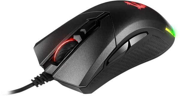 Состоялся официальный анонс игровой мышки MSI Clutch GM50