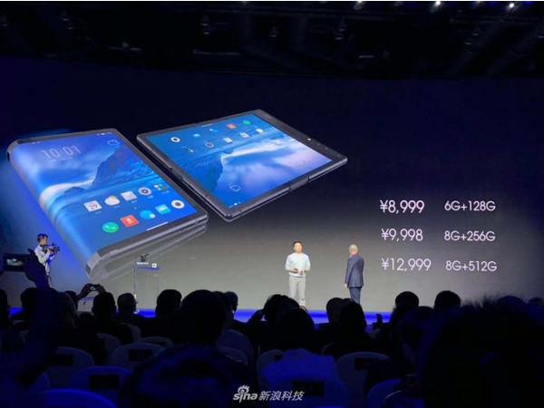 FlexiPai – первый в мире смартфон с гибким дисплеем – старт продаж