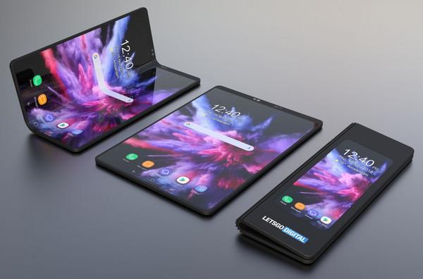 3D-рендеры складного смартфона Samsung