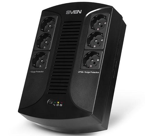 Новый ИБП SVEN UP-L1000E с функцией