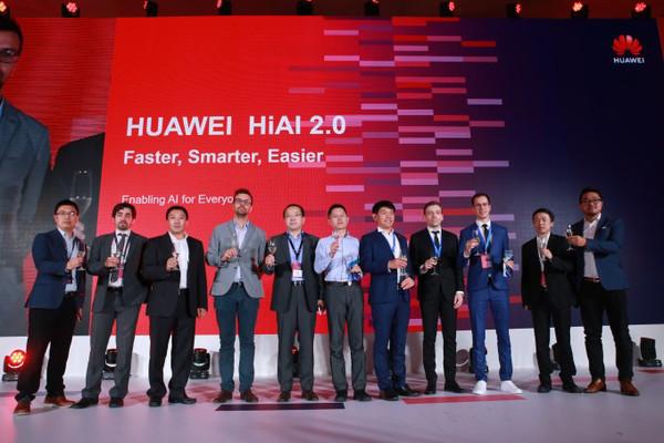 Huawei презентовала обновленную платформу HiAI 2.0