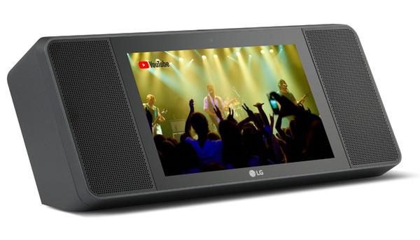LG XBOOM AI ThinQ WK9 - смарт-дисплей с Google Assistant