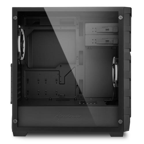 Sharkoon анонсировала корпус Sharkoon Skiller SGC1 RGB с панелью из стекла