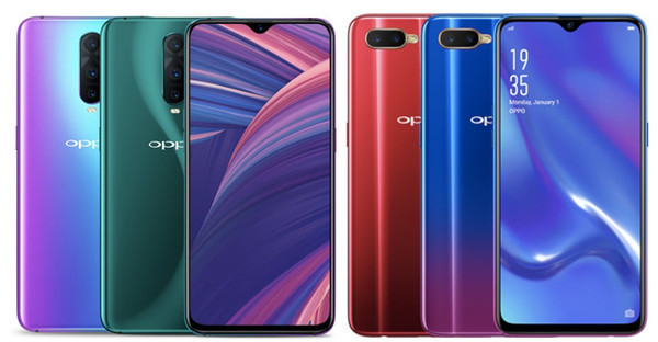 OPPO анонсировала 6,4-дюймовые смартфоны RX17 Pro и RX17 Neo