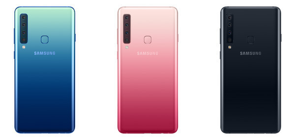 Старт продаж в Украине Samsung Galaxy A9 - первого смартфона с 4-мя камерами