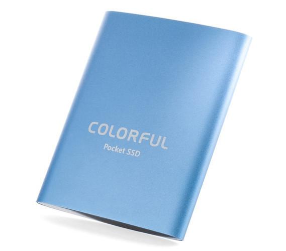 Представлен внешний SSD Colorful P100