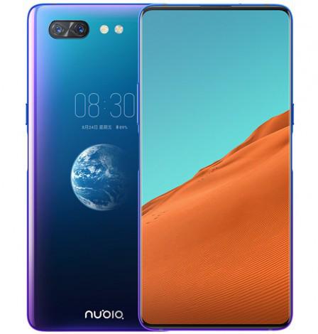 ZTE Nubia X – смартфон с двумя цветными дисплеями и Snapdragon 845