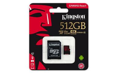 Стартуют продажи карт памяти Kingston объемом до 512 Гб