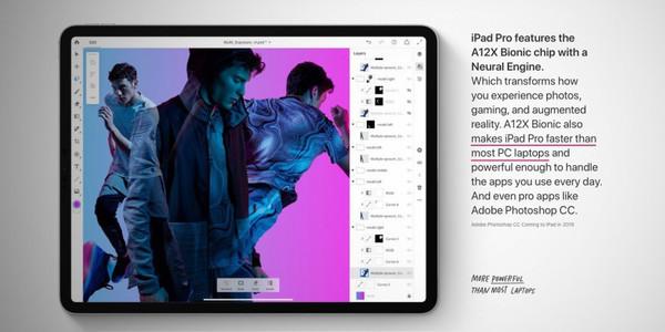 Производительность нового iPad Pro оказалась на уровне MacBook Pro