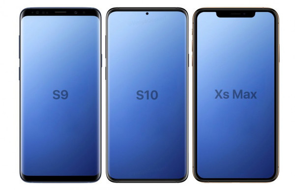 Galaxy S10 – рассекречен дизайн нового флагмана Samsung