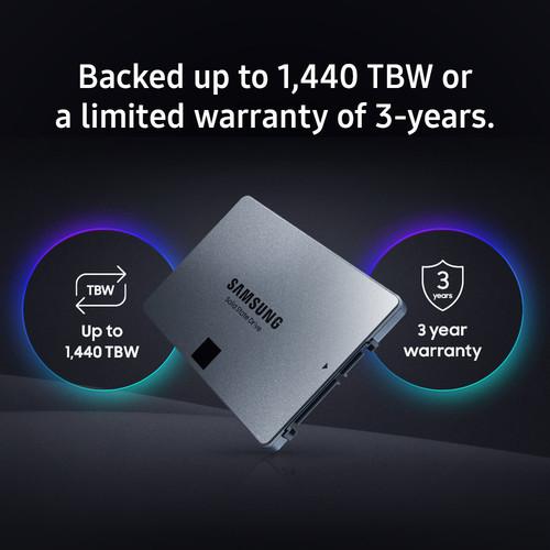 Samsung представила бюджетный мультитерабайтный накопитель 860 QVO