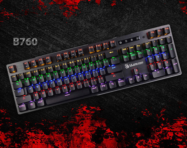 Игровая клавиатура A4 Bloody B760