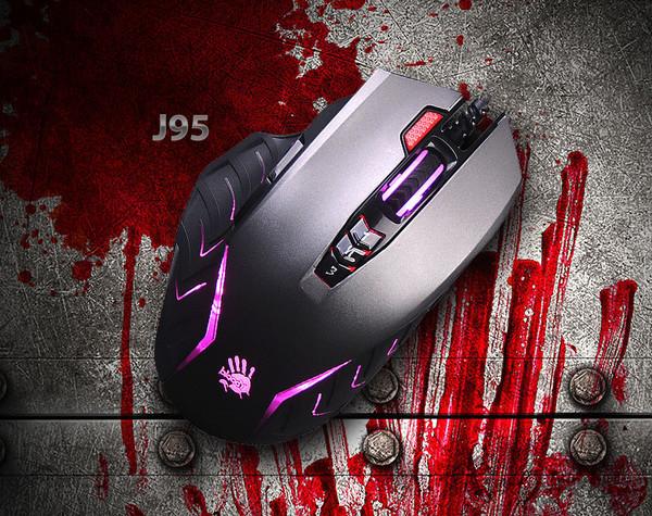 Игровая мышь Bloody J95 - теперь и в сером цвете