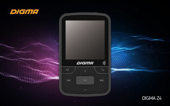 Новый MP3-плеер DIGMA Z4