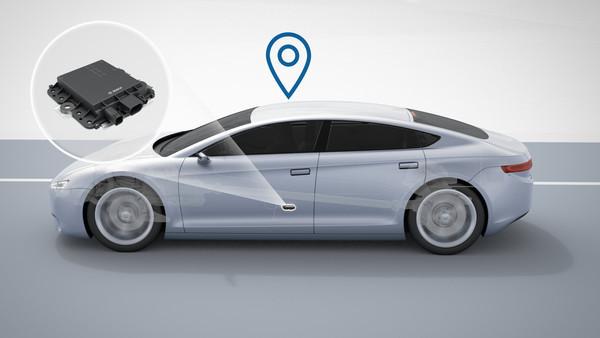 Решения Bosch для точного определения местоположения автомобиля