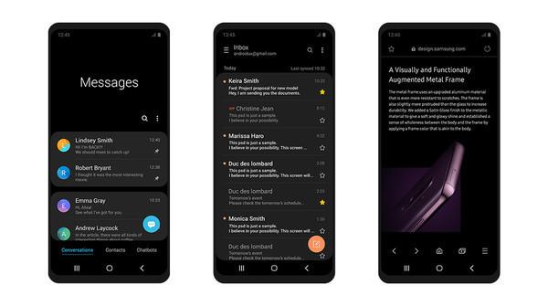 Интерфейс Samsung One UI: новый и удобный для работы со смартфоном
