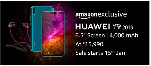 Huawei Y9 (2019) – 6,5-дюймовый смартфон с аккумулятором на 4000 мАч