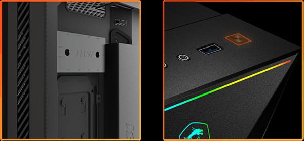 MSI представляет новые компьютерные корпуса