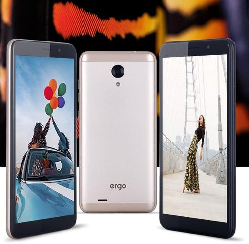 Новый смартфон ERGO V551 Aura Dual Sim уже доступен в каталоге Юг-Контракт