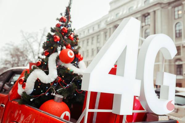 Клиенты Vodafone использовали 6 ПТ интернет-трафика в зимние праздники