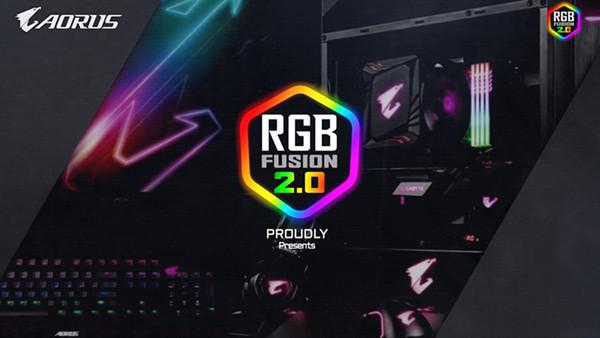 GIGABYTE анонсирует функцию RGB Fusion 2.0 с удобной синхронизацией подсветки
