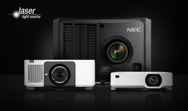 NEC представляет будущее лазерной проекции на ISE 2019