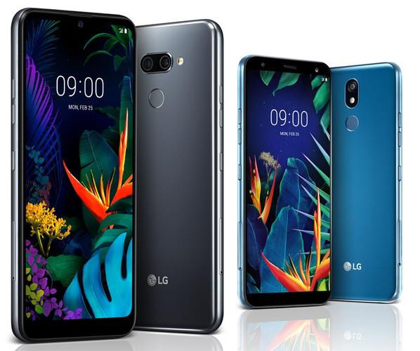 Смартфоны LG K50 и K40: большие дисплеи и защищенные корпуса