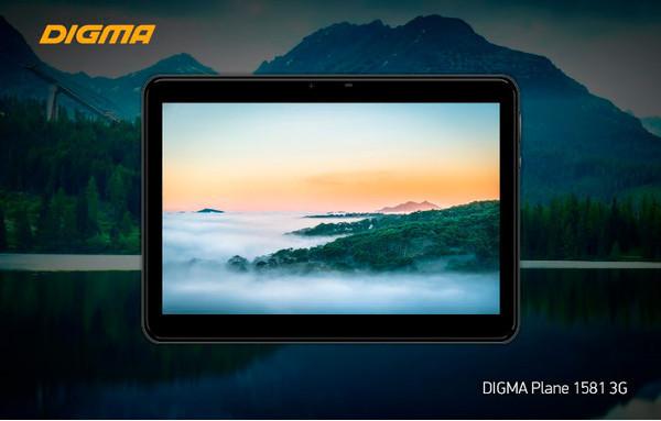 10.1-дюймовый планшет DIGMA Plane 1581 3G