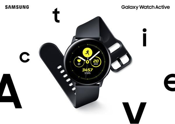 Samsung анонсировала часы Galaxy Watch Active и браслет Galaxy Fit