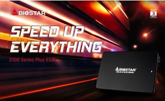 BIOSTAR представила SSD-накопители серии S100 Plus