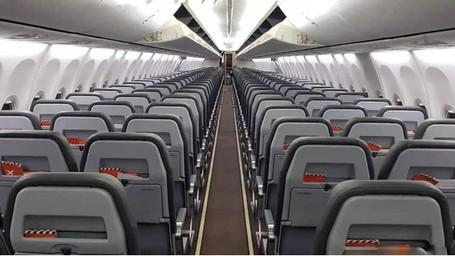 SkyUp Airlines красит борты и модифицирует салоны своих самолетов