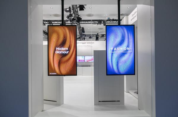 Samsung представляет новое поколение профессиональных дисплеев на ISE 2019