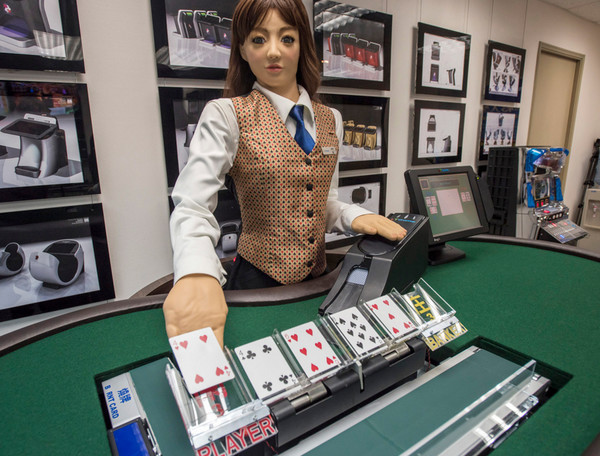 Я, робот. Заоблачные технологии в наземных казино