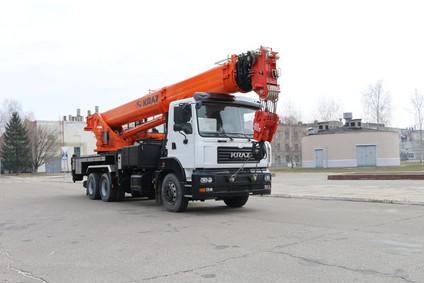 КрАЗ КС-65719 - первый 40-тонный кран компании